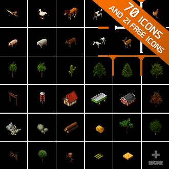 farm animals plants