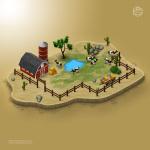 3d_map_desert_barn_farm
