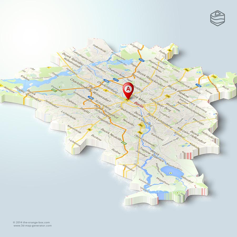 Map Of Germany 3d.Www 3d Map Generator Com 3d Map Gallery 3dmg2