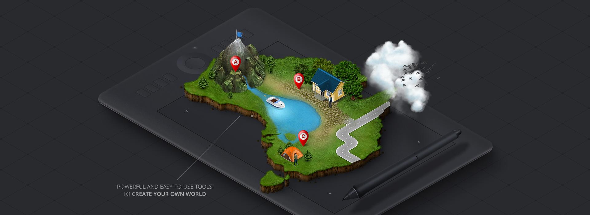3D MAP YOUR IDEAS