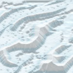 Shapeless 3D Map - auto texturing ice and snow