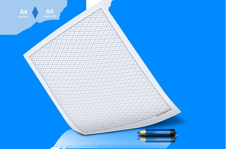 Free-printable-isometric-grid