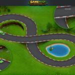 car racing game map