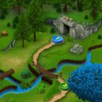 Fantasy world map example