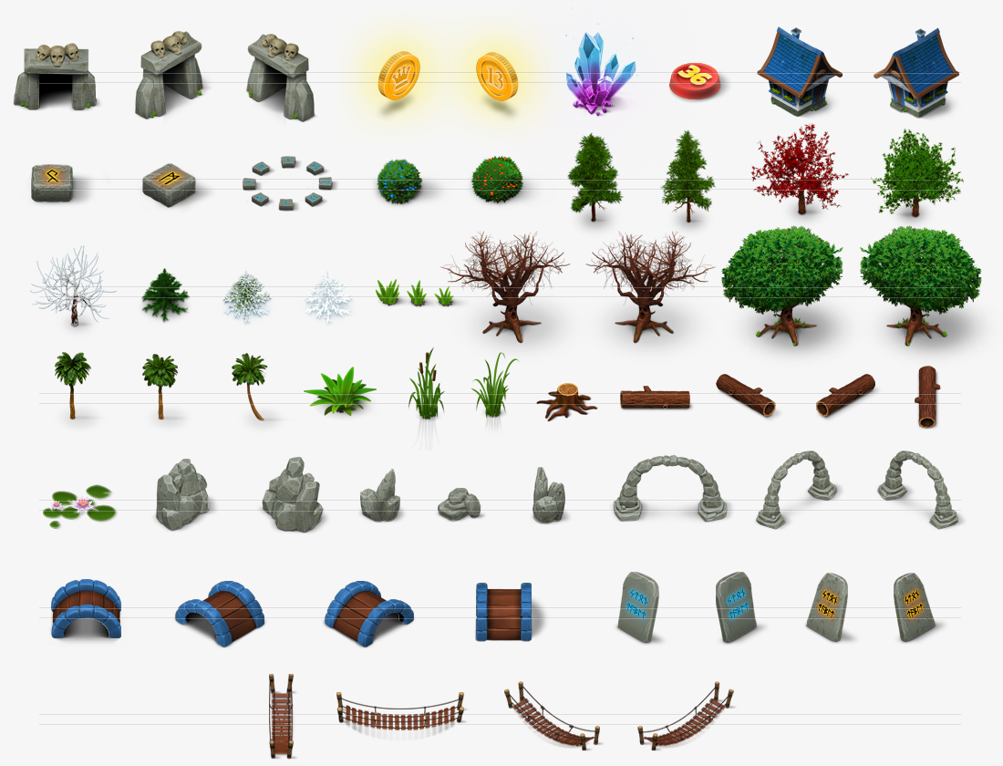 game map icons