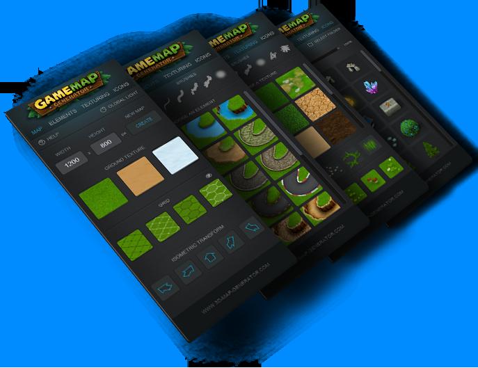 game  map generator panel
