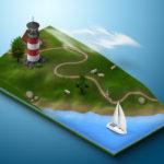 Beach-with-lighthouse