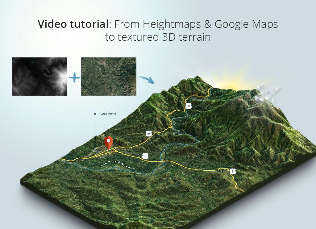 www 3d-map-generator com | 3D Map Generator Terrain – Examples