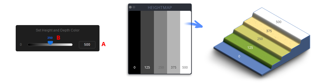 description what is a grayscale heightmap