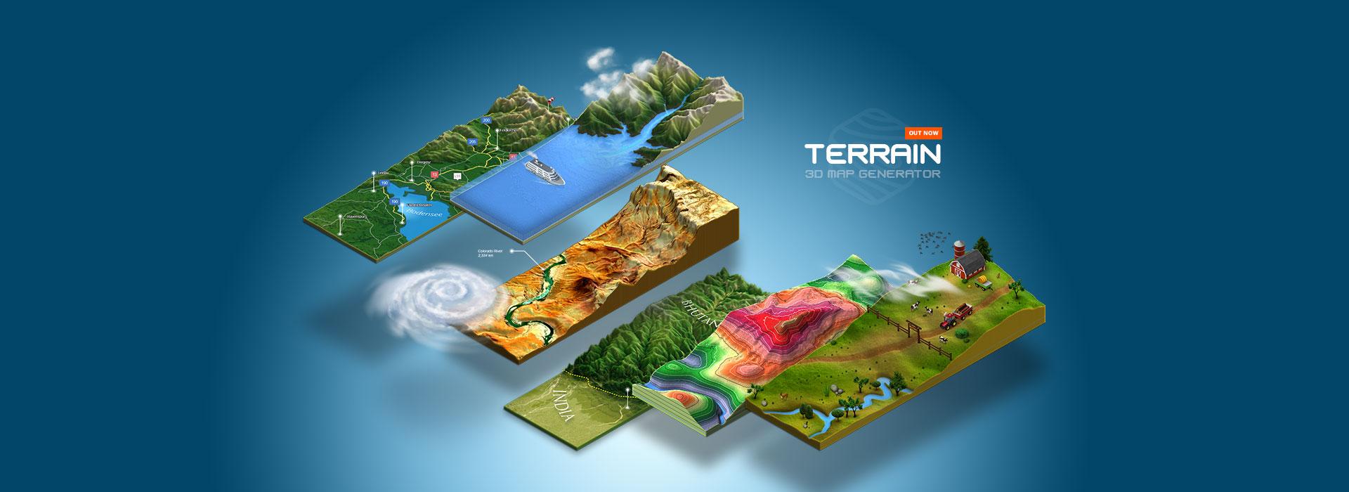 3D Map Generator u2013 Terrain www3d map generatorcom