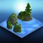 water-terrain-example