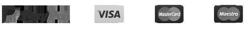 payment paypal visa masta