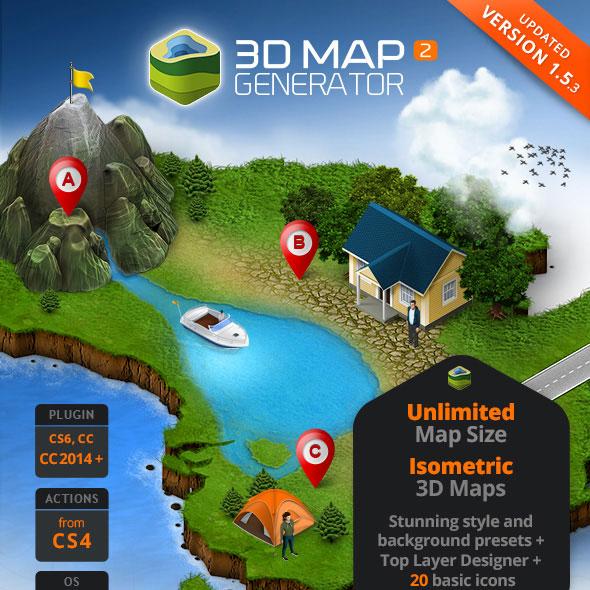 download 3d map generator 2 isometric