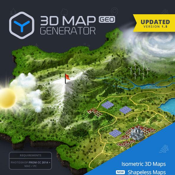 download 3d map generator geo