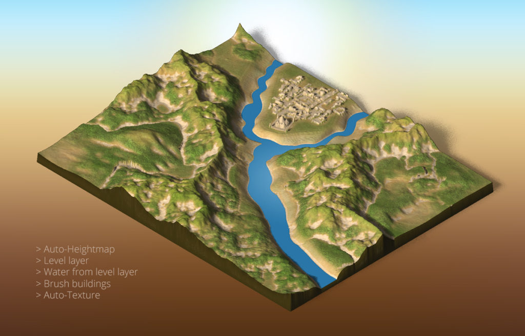 3d Map Generator Atlas